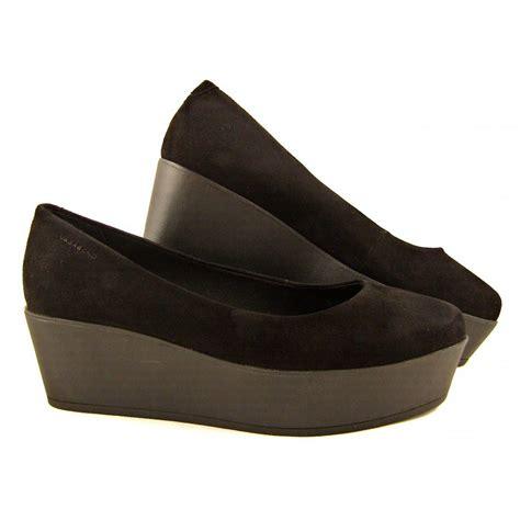 Sneaker Wedges Gaga s vagabond gaga chunky wedges in black suede buy