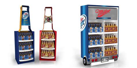 beer merchandiser carroll coolers walk in beer cave