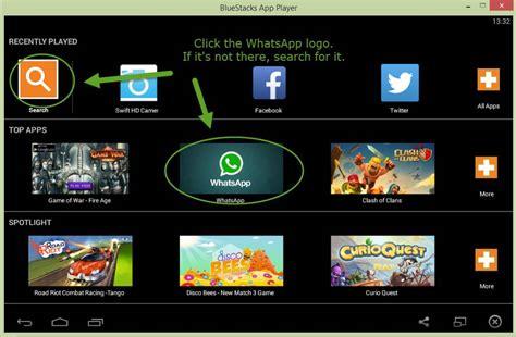bluestacks whatsapp installing whatsapp on your pc using the bluestacks