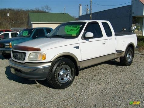 2000 Ford F150 by 2000 Oxford White Ford F150 Lariat Extended Cab 21872830