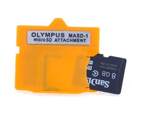 Adapter Memory Xd neon olympus masd 1 xd picture card card adapter for