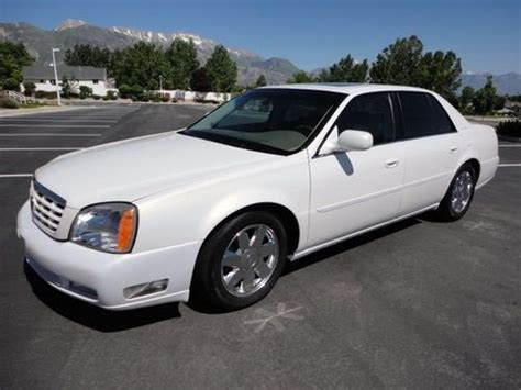 how to sell used cars 2004 cadillac deville seat position control find used 2004 cadillac deville dts loaded heated steering wheel air cond seats more in orem