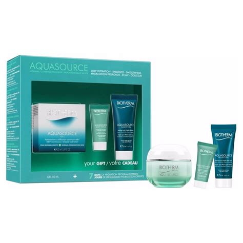 Biotherm Skincare Giftset biotherm aquasource normal combination skin gift set