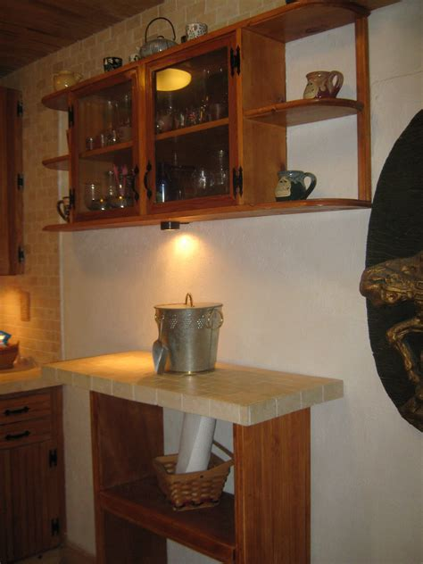 fernandez cabinet cocina rustica terminada remodelacion