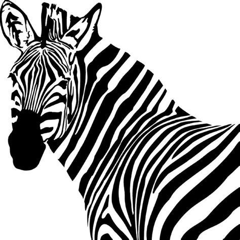 free zebra head clipart best