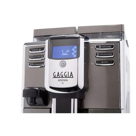 Gaggia Coffe Maker Anima Xl Hitam gaggia anima xl commercial automatic espresso machine espresso dolce