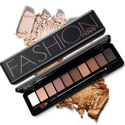 Eyeshadow Novo novo brand makeup eye shadow palette shimmer matte