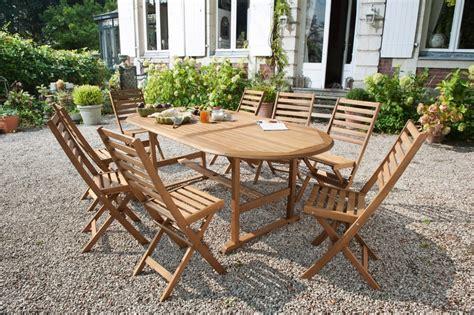 Table De Jardin En Bois by Table De Jardin En Bois Salon De Jardin Resine Pas Cher