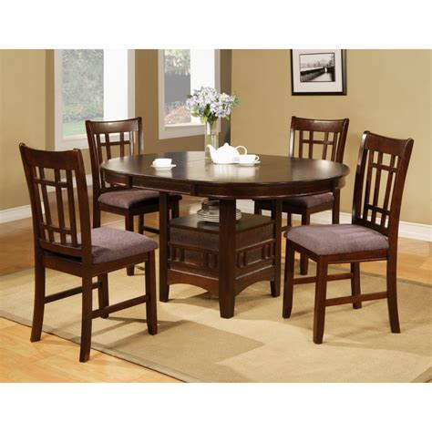 cherry pub table cherry pub 6 pc dining table with pedestal base