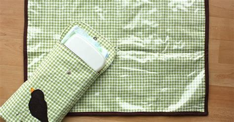 Changing Mat With Pillow by Diy Changing Pad Use Leftover Fabric Or Pillow And