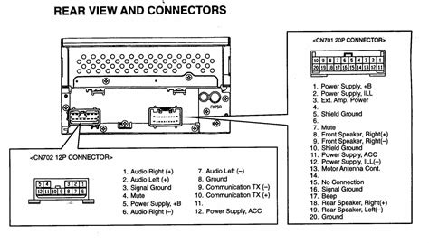 stereo wiring for 2002 mazda tribute wiring diagrams