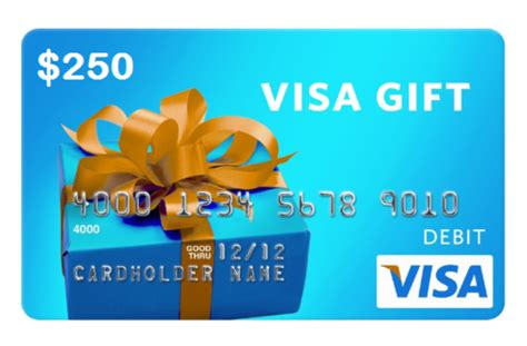 Can You Use Visa Gift Cards Internationally - uwinit 250 visa gift card prize