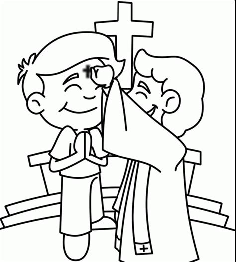 coloring pages for lent ash wednesday coloring page coloring home
