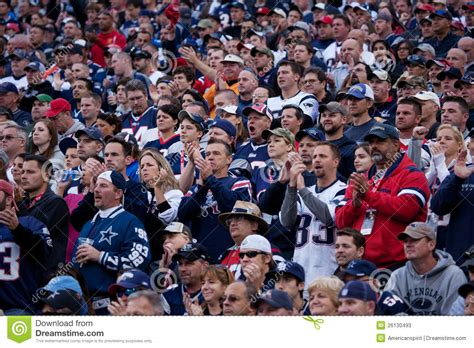 new england patriots fans new england patriots fans editorial stock photo image of