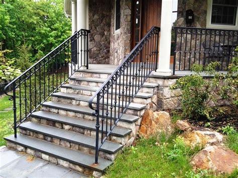 metal porch railing impressive black wrought iron porch railings for farmhouse