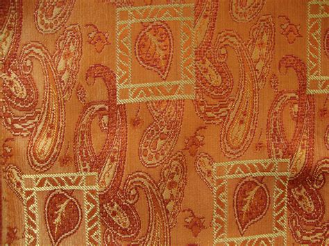 orange paisley curtains mughal paisley orange curtain material curtains fabx