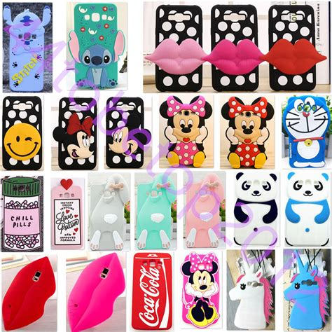 Silicon Casing Softcase 3d Samsung J1 Ace J1 Mini 1 3d disney silicone soft cover for samsung galaxy a9 8 7 5 7 j1 2 3 ebay