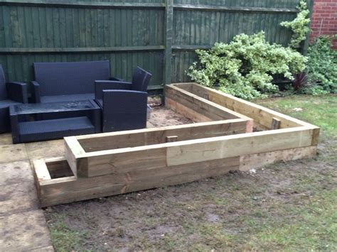 Eco Sleepers by 30 Best Images About Patio On Gardens Raised Beds And Sleeper Wall