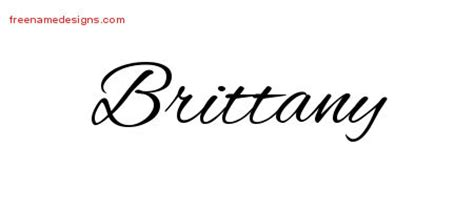 brittany tattoo designs name tattoos pictures to pin on