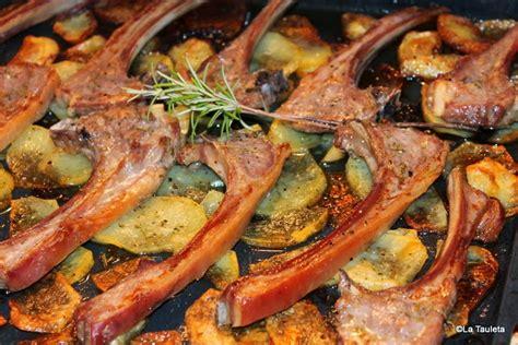 chuletas de cordero torradas al horno la tauleta - Como Cocinar Chuletas De Cordero