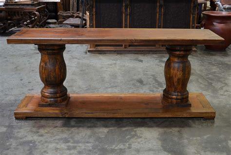 turned leg console table turned leg console table demejico