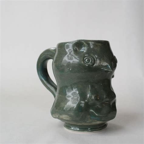 Animal Shaped Mugs | hand crafted animal shaped mugs by sara e lynch