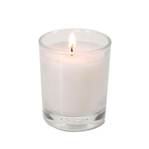 candele votive white pre filled votive candles from lynn