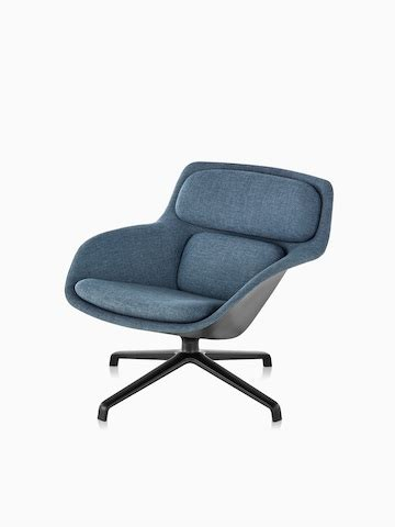chair and a quarter with ottoman striad lounge seating herman miller