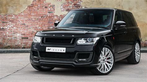 kahn range rover sport kahn range rover vogue signature edition