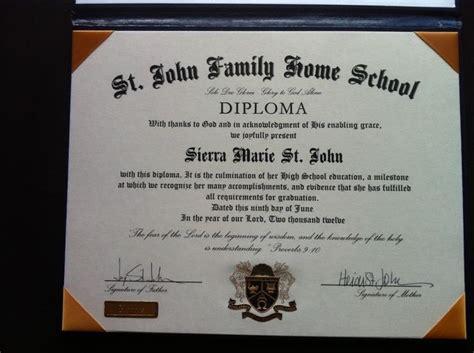 diploma home school