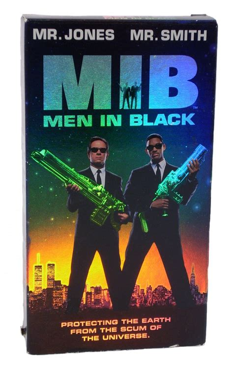 MIB: Men in Black VHS 1997