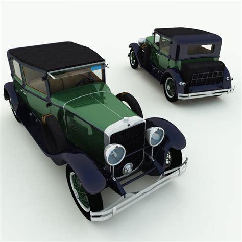 1928 Cadillac Town Sedan by 1928 Cadillac Town Sedan 3d Model