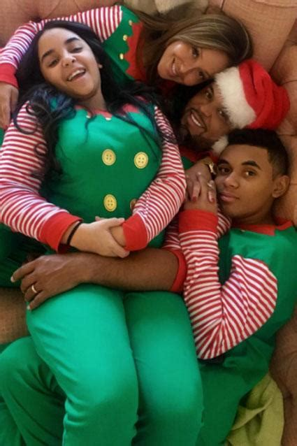 celebs   families adorably rock matching holiday pajamas entertainment tonight