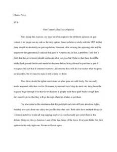 Usna Essay Prompt by Gun After Essay Opinion