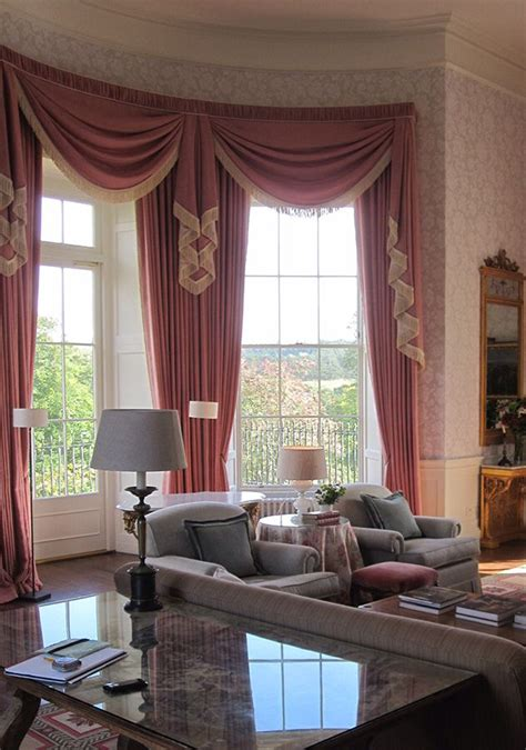 swag curtains for bay windows 108 best bay or bow windows images on pinterest