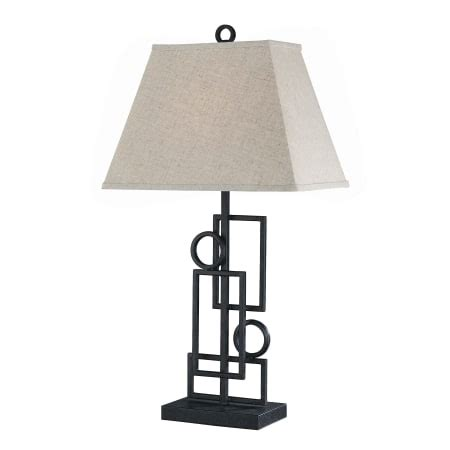 Iron Table Ls Lite Source Ls 21207 Wrought Iron 1 Light Wrought Iron Table L With Fabric Shade From The