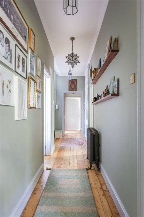 How To Decorate A Long Narrow Hallway Wall