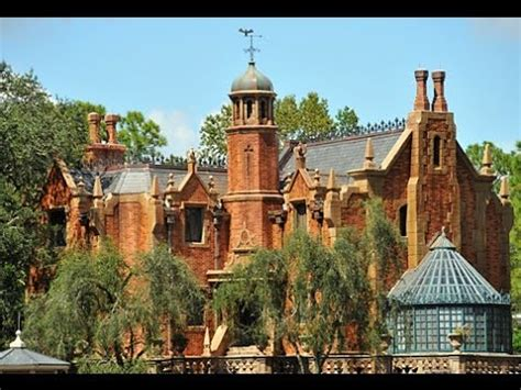 ultimate haunted mansion on & off ride fan tribute