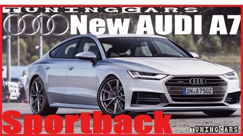 2019 All Audi A7 by All New 2019 Audi A7 Exterior Interior Concept Design