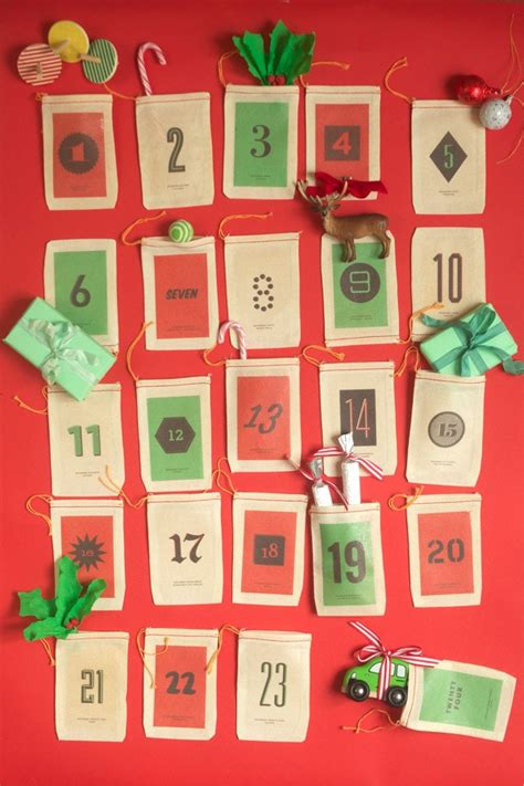 make cheap calendars 35 diy advent calendar ideas apartment therapy