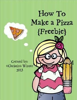 How To Make Paper Pizza - how to make a pizza procedural writing freebie top