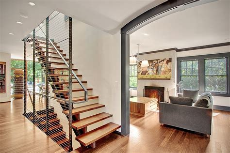 contemporary home interior designs modern remodelled home in seattle with whimsical artwork