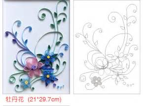 Quilling Template by Tutorial Paper Quilling Ask Home Design