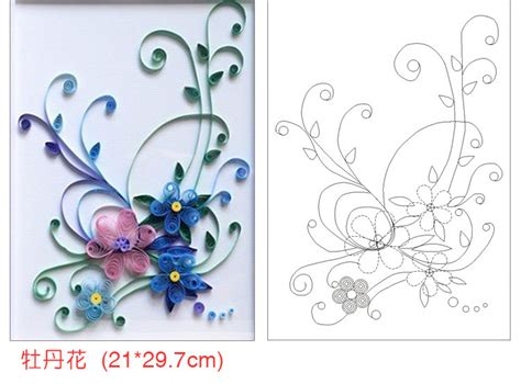paper quilling templates on pinterest quilling patterns