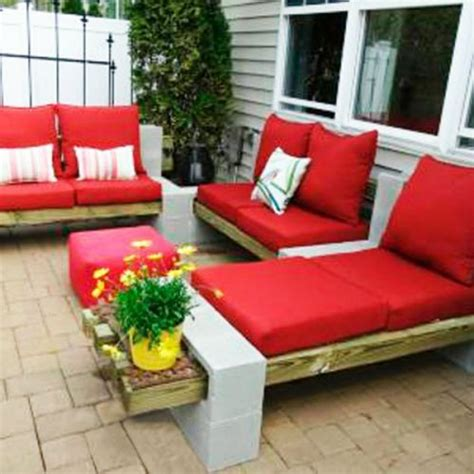 Patio Furniture You Can Sleep On 1000 Ideas About Cinder Block Bench On Cinder
