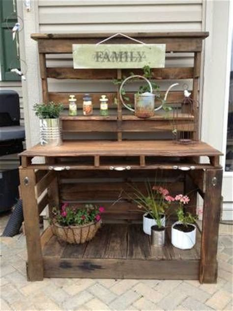 pallet bench for sale great idea for a pallet potting bench this one is for