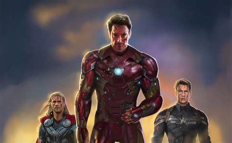 captain america vs ironman hd wallpaper iron man captain america thor fan art hd superheroes 4k