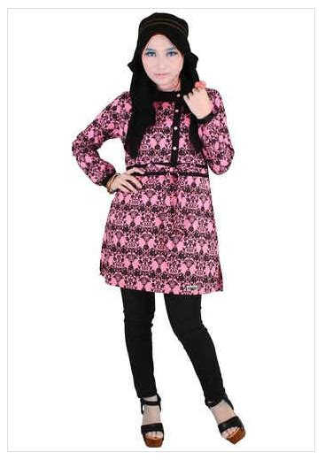 Fashion Wanita Dress Wanita Atasan Wanita Ni Dress model baju batik muslim atasan wanita 2016 koleksi