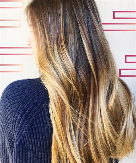 cute summer hair color hottest gloss smudge hair color trends 2017 summer