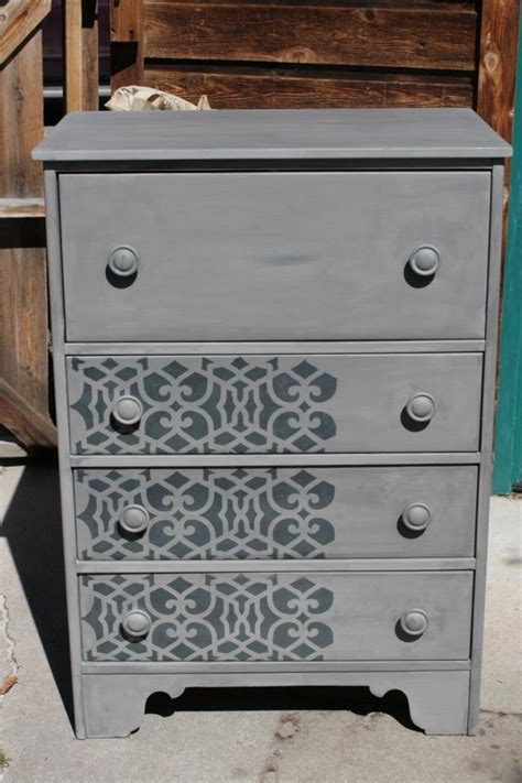 Furniture Stencils by Chez Sheik Furniture Stencil